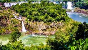 Cataratas de伊瓜苏 免版税库存照片