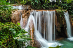 The Cataratas de Agua Azul Royalty Free Stock Image
