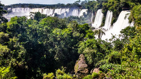 Cataratas de Iguazu Στοκ Φωτογραφία