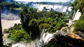 Cataratas De Iguazu Fotografia Stock