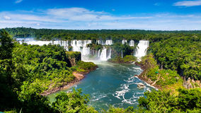 Cataratas de Iguazu Στοκ εικόνα με δικαίωμα ελεύθερης χρήσης