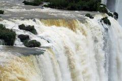 Cataratas del伊瓜苏, Iguassu瀑布 库存照片