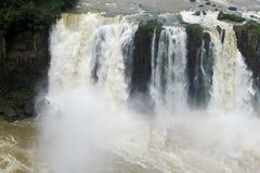 Cataratas del伊瓜苏, Iguassu瀑布 图库摄影
