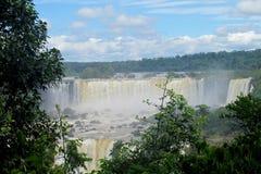 Cataratas del伊瓜苏, Iguassu瀑布 免版税图库摄影