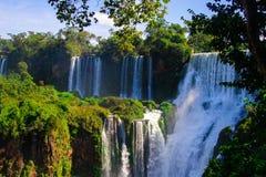 Cataratas del伊瓜苏 库存照片