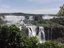 Cataratas del Iguazú royalty-vrije stock afbeelding