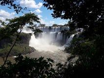 Cataratas Del iguazú Obraz Royalty Free