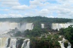 Cataratas del Iguazu, Iguassu vattenfall Royaltyfria Bilder