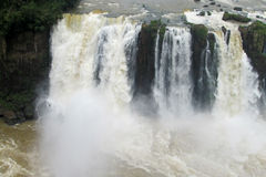 Cataratas del Iguazu, Iguassu waterfall Stock Photography