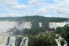 Cataratas del Iguazu, Iguassu waterfall Royalty Free Stock Images