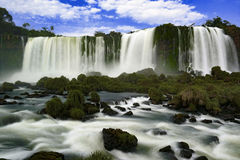 Cataratas tun Iguaçu - die Iguaçu-Wasserfälle Lizenzfreie Stockfotos