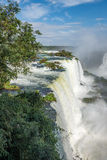 Cataratas waterfalls view from the top with some rocks Stock Photography