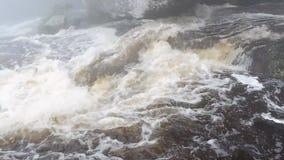 Cataratta dell'acqua stock footage