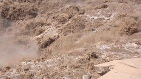 Cataratta di Hukou video d archivio