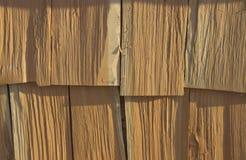 Catasta di legna nel villaggio immagini stock libere da diritti