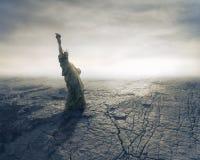 Catastrofe Fotografia Stock Libera da Diritti
