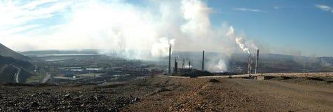Catastrofe di ecologia in Noril'sk, Russia Immagine Stock Libera da Diritti