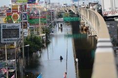 Catastrophe dans Bangko de 22.11.2 Photos libres de droits
