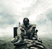Catastrophe environnementale Images libres de droits