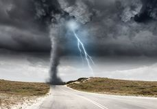 Catastrophe naturelle Photos libres de droits
