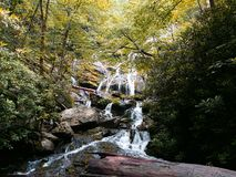 Catawba Falls Royalty Free Stock Photo