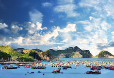 Catba Wyspa Fotografia Stock