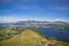 Catbells in Lake District Stock Photography