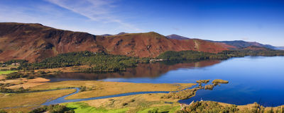 Catbells Panorama Stock Photography