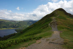 Catbells Peak in The English Lake District Royalty Free Stock Image