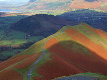 Catbells ridge Stock Photos