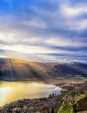 Catbells Sunrise - Lake District Stock Images