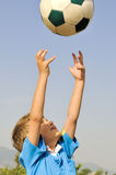 Catch the ball Stock Photography