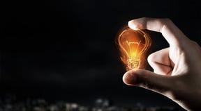 Catch bright idea Stock Image