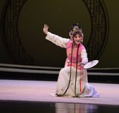 "Catch a butterfly-Kunqu Opera ""the West Chamber"" Stock Image"