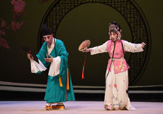 "Catch a butterfly-Kunqu Opera ""the West Chamber"" Stock Photo"