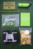 Catch a Leprechaun Kit Stock Photos