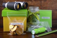 Catch a Leprechaun Kit Stock Image