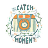 Catch the moment. Royalty Free Stock Image