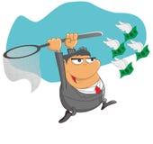 Catch money Stock Photos
