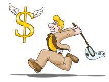 Catch Money Stock Photography