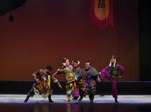"Catch the prisoner-Peking opera ""Little Worriors of Yeuh's family"" Stock Photos"
