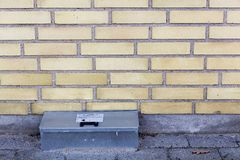 Catch rat trap box Stock Image