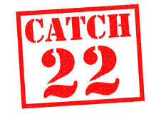 CATCH 22 Royalty Free Stock Photography