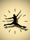 Catch the time Royalty Free Stock Image