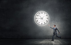 Catch up with time Stock Photography
