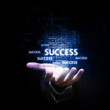Catch your success Royalty Free Stock Photo