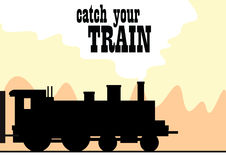 Catch Your Train Royalty Free Stock Images