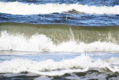 Catched wave. Background of the sea, freezed waves royalty free stock photo