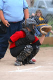 Catcher Royalty Free Stock Photography