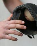 Catcher hands Stock Photos